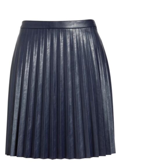 J. Crew Dresses & Skirts - J Crew faux leather Miniskirt